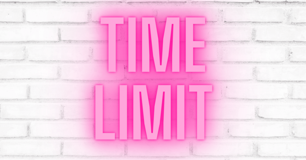 Time Limit on Brick Wall - How to Quickly Declutter Your Home