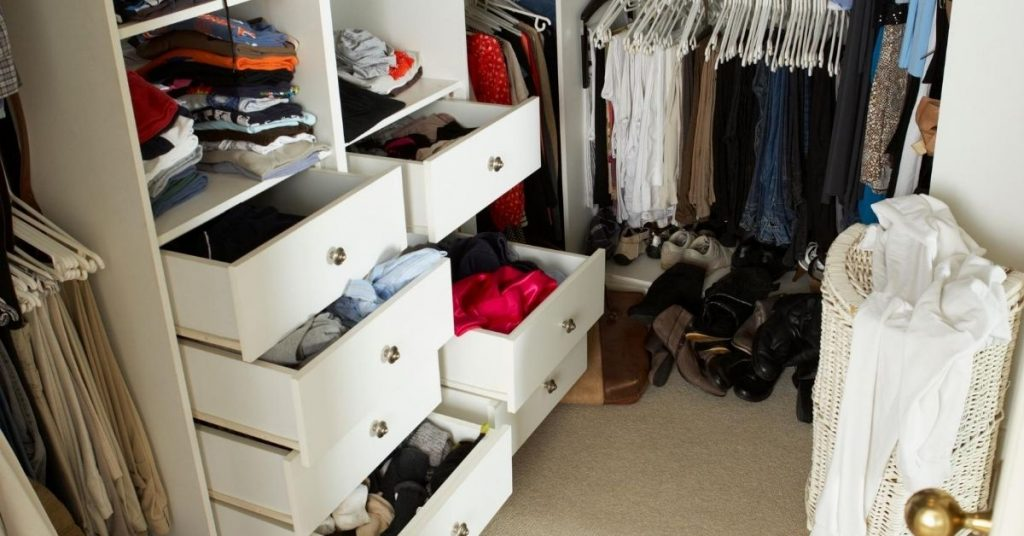 Bedroom Wardrobe Drawer Storage and Organisation Essentials - Clean and Tidy Living