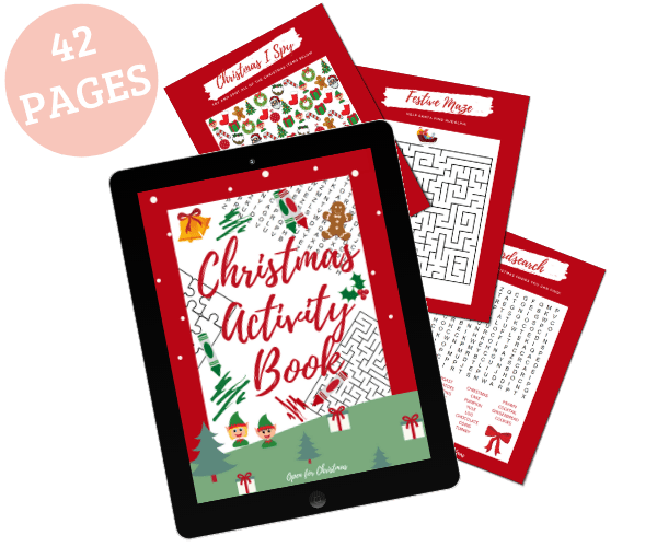 Christmas Activity Book - Clean and Tidy Living
