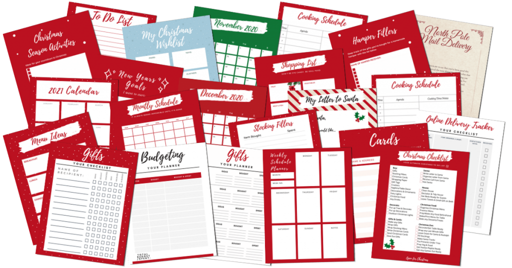Ultimate Christmas Organiser - What's Inside