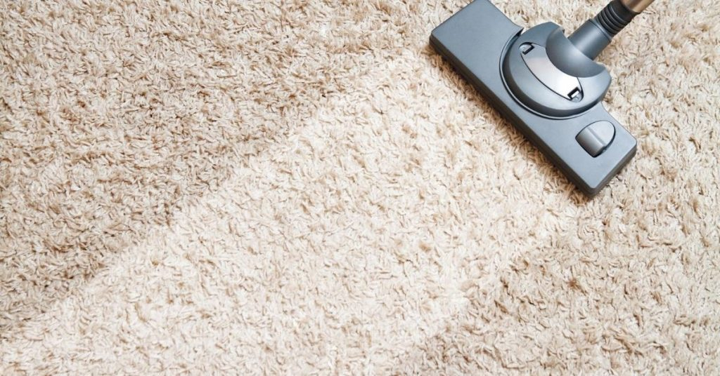 Vacuuming Carpet - Best Vacuum Cleaner Under £200 - Clean and Tidy Living