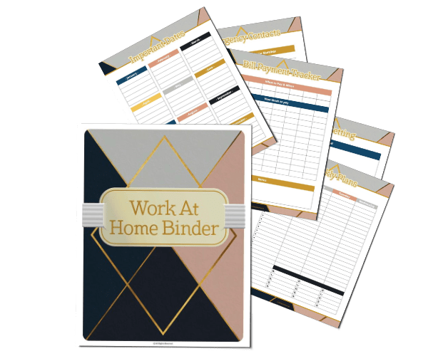 Work at Home & Life Planner