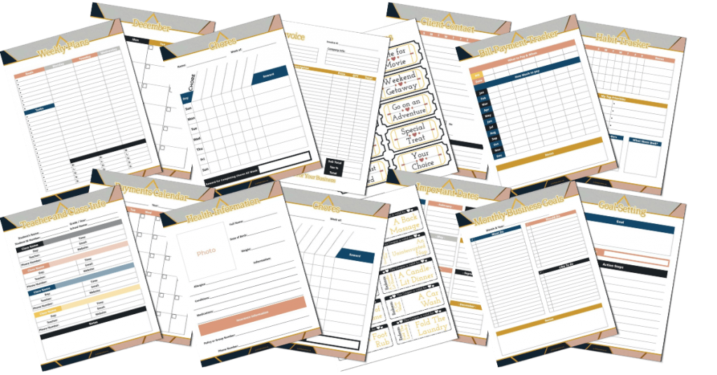 Work at Home & Life Planner - Clean and Tidy Living