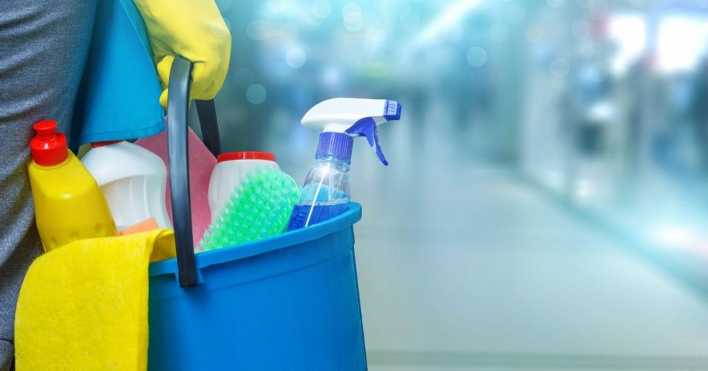 Cleaning Products - Cleaning a toilet with the strongest toilet cleaner in the UK - Clean and Tidy Living