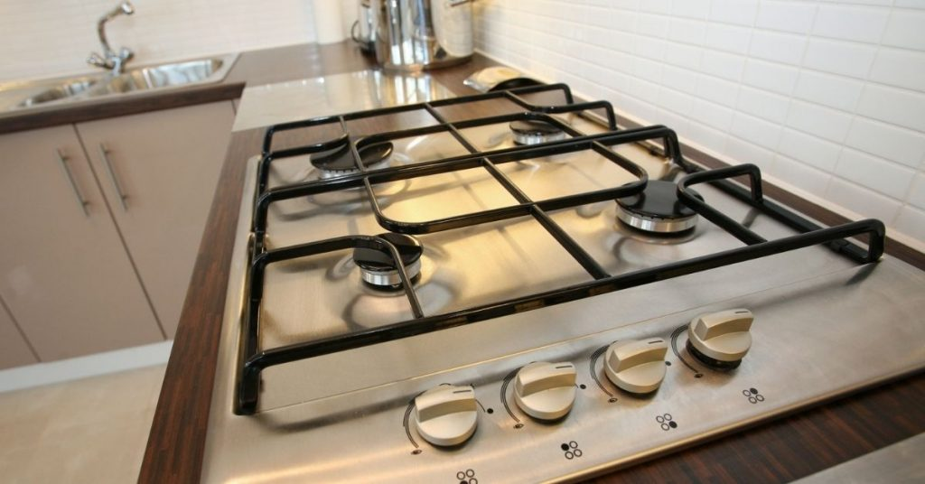 Clean Gas Hob Burner Caps - Clean and Tidy Living