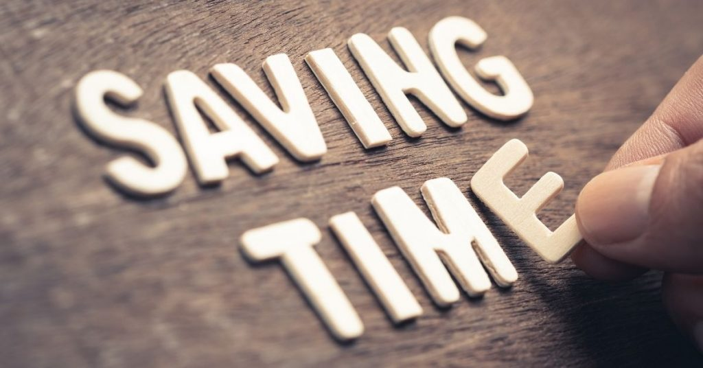Saving Time Letters - Time Saver Tips - Clean and Tidy Living