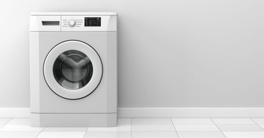 Washing Machine on a Floor - How Much Does a Washing Machine Weigh - Clean and Tidy Living