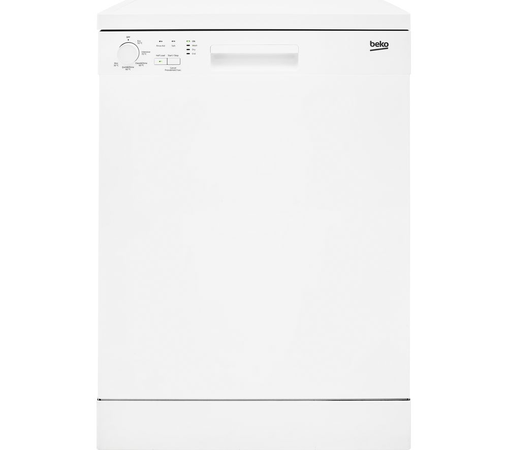 BEKO Full Size Dishwasher White - Currys - Best Dishwasher Under £300 - Clean and Tidy Living