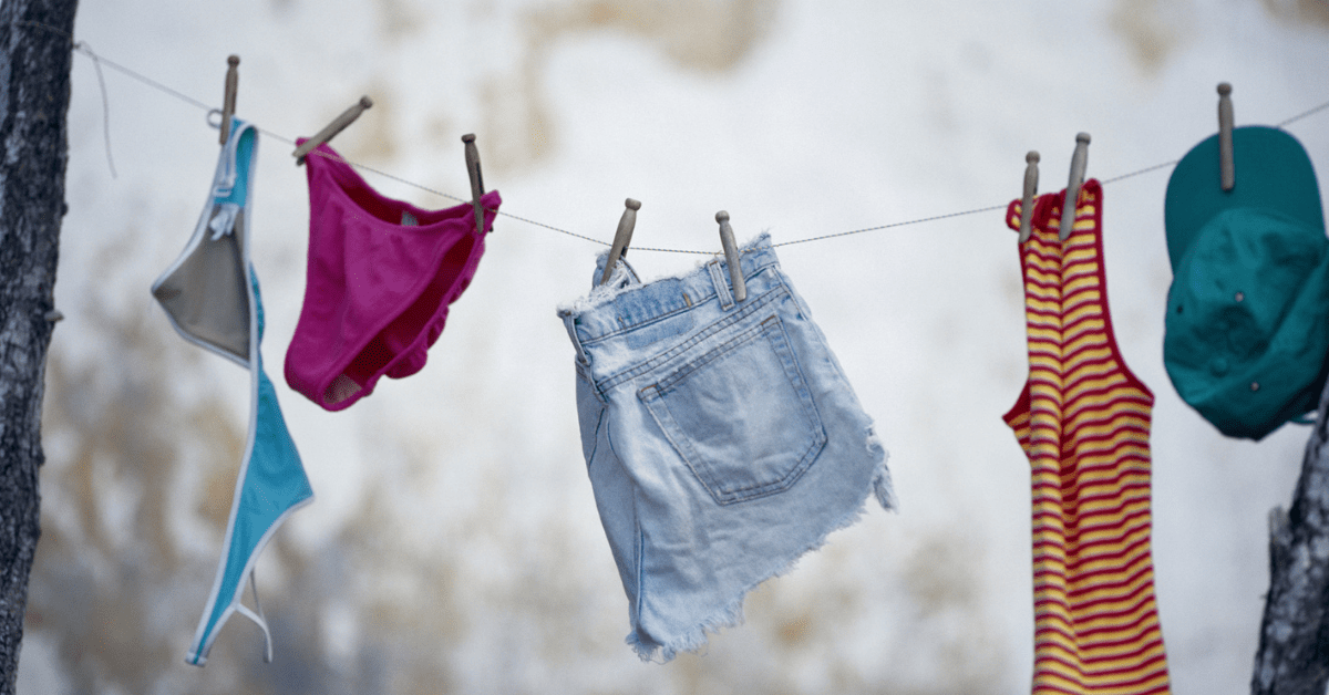How to Stop Your Clothes Smelling Damp - Clean and Tidy Living