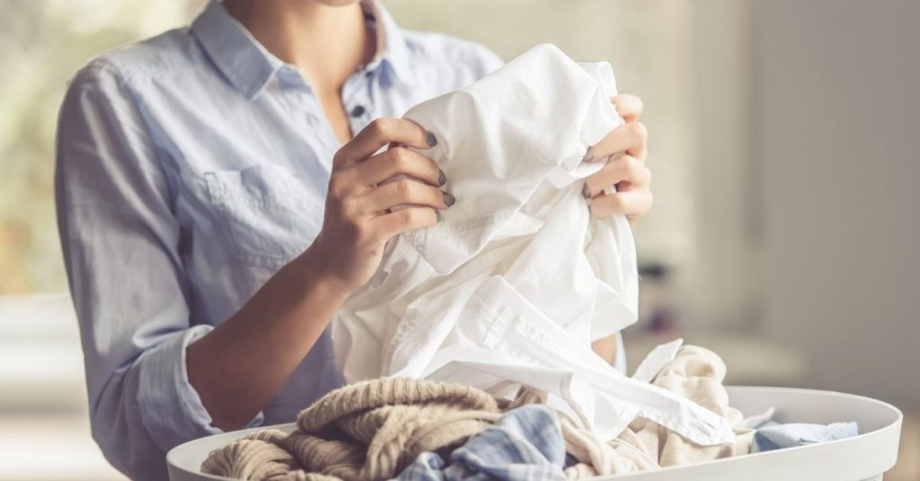 Washing Laundry to Stop Your Clothes Smelling Damp - Clean and Tidy Living