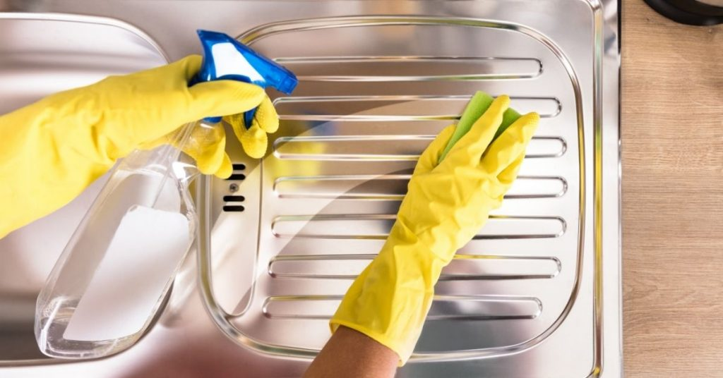 How to Clean Stainless Steel Appliances With Baking Soda - Clean and Tidy Living