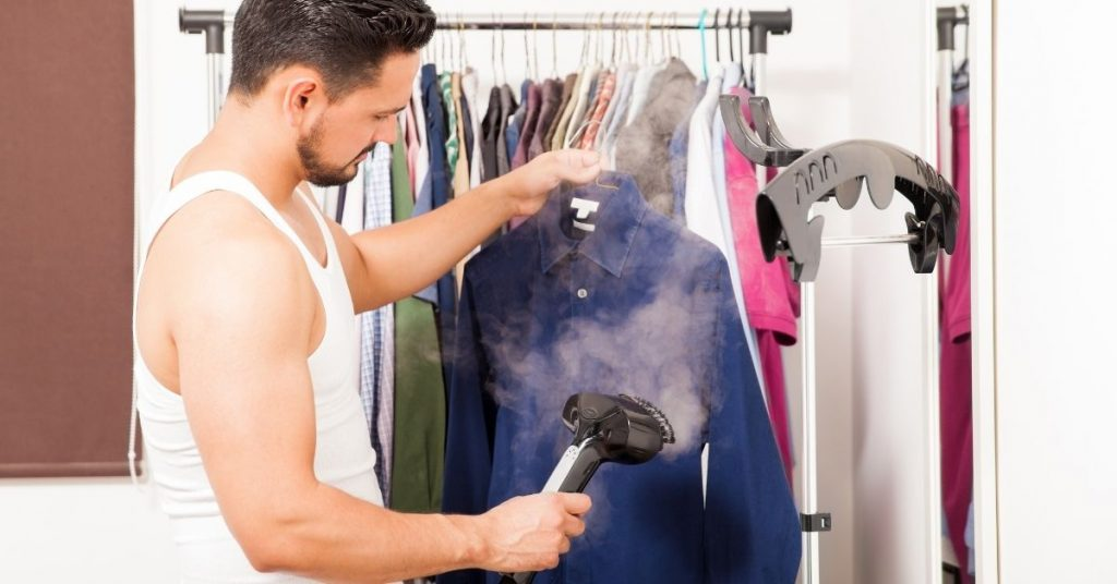 How to steam creased clothes without a steamer or iron - Clean and Tidy Living