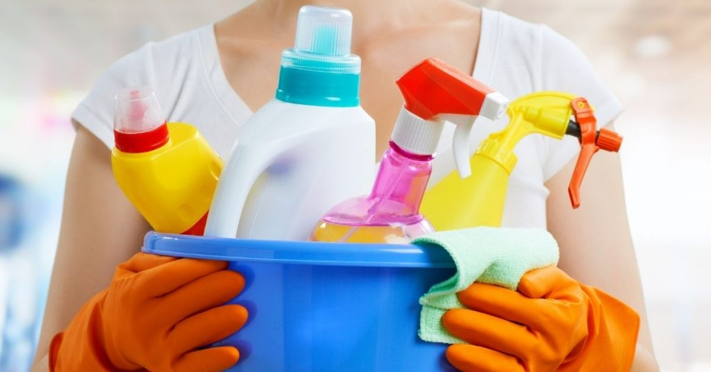 Cleaning products to help Clean your house in 2 hours - Clean and Tidy Living